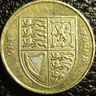 1 фунт 2013 Британія щит