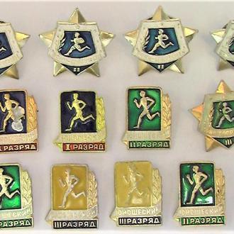 Значки 12 штук СССР разные Лот А 156