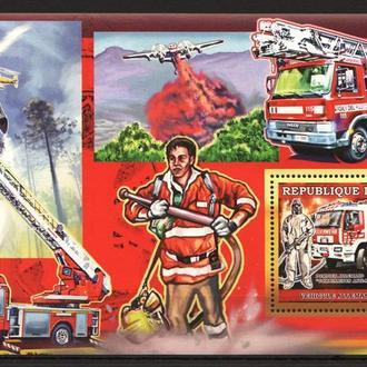 Гвинея 2006 ** Спец автомобили пожарные БЛ MNH