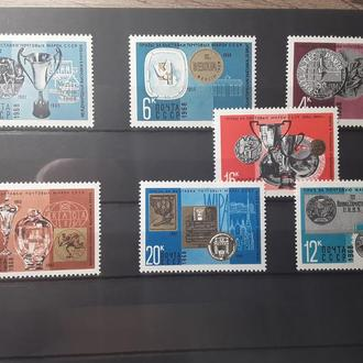 Награды, присужденные почтовым маркам СССР на международных филателистических выставках и конкурсах