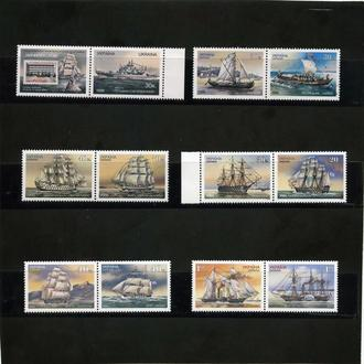 Украина, Все парусники с 1989 г.- 2003 г. **. Флот. Парусники.
