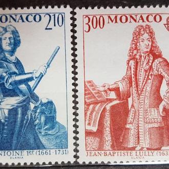 Монако 1995 музыка ЕВРОПА СЕПТ Михель = 3 евро**