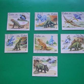 Куба  1985 Динозавры *   полн. серия