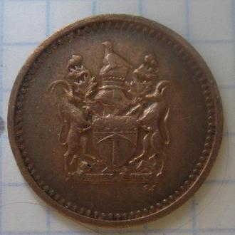 РОДЕЗИЯ, 1 цент 1970 года.