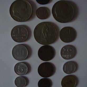 Монети різних часів і держав (1735 - 1991)