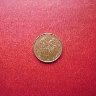 Остров Мэн 2 пенса 1997