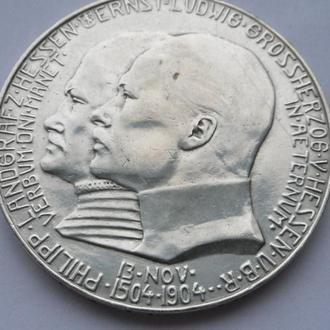 Германия 5 марок 1904 г Гессен