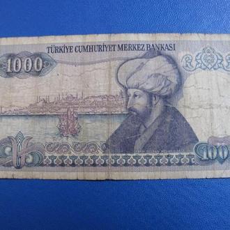 1000 Лір Туреччина Тысяча Лир Турция 1970