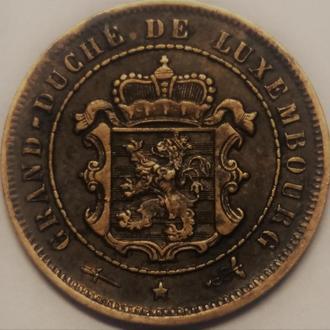 Люксембург, 2 1/2 сантима 1901 год СОСТОЯНИЕ!!!