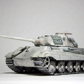 German King Tiger (Porsche turret) 1/35 TAMIYA