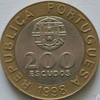200 эскудо 1998 год Португалия