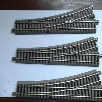 Cтрелки левые Roco Geoline 61140-3штуки / Железная дорога H0(1:87)