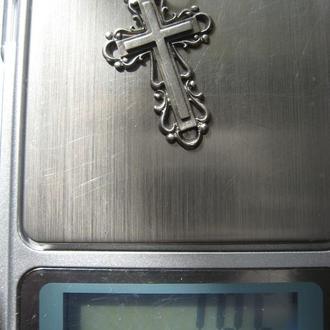 Крест - серебро 925, 1,95г