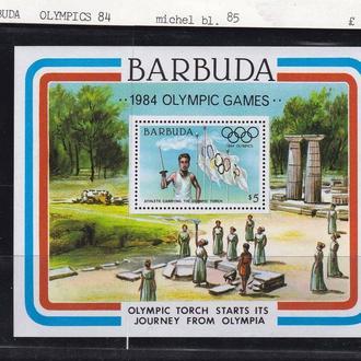 ЛОИ . Барбуда 1984 г MNH - блок