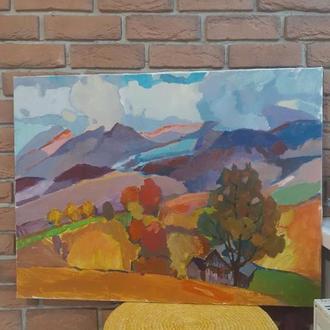 """Шикарний пейзаж """" Колочавські краєвиди """" художник Чепинець В."""