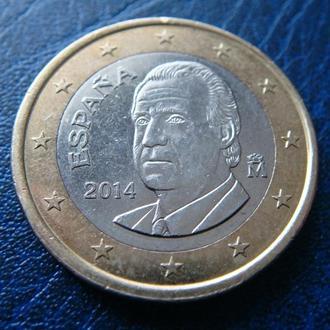 Испания 1 евро 2014
