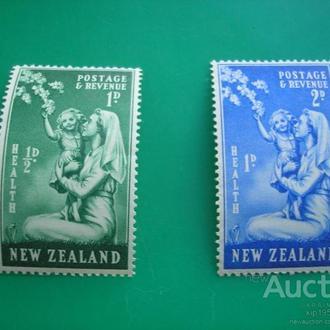 Новая Зеландия 1949 благотворительность здоровье MNH