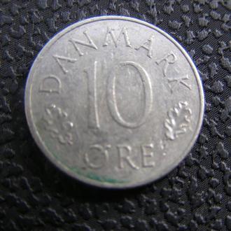 10 эре Дания 1974