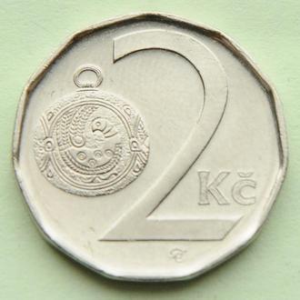 (А) Чехия 2 кроны, 2002
