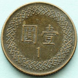 (А) Тайвань 1 доллар 1982