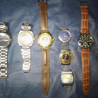 Часы наручные мужские 8 штук