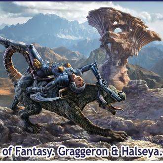 "Master Box 24007 ""World of Fantasy. Graggeron & Halseya""  (1/24)"