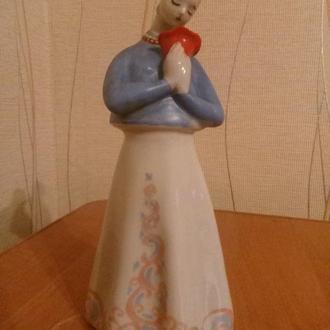 Статуэтка фарфор Аленький цветочек