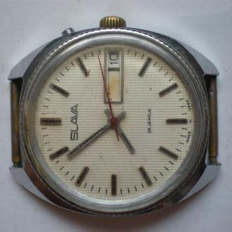 часы Слава редкая модель рабочие сохран 04092