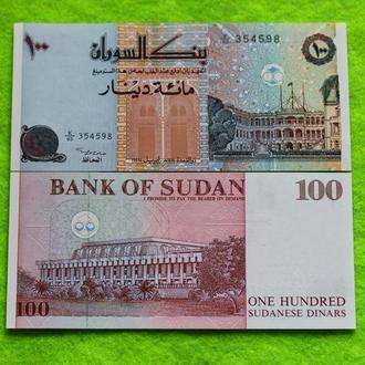 Судан 100 фунтов UNC