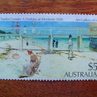 Австралия.1984г. Живопись. Полная серия. КЦ 2.50 EUR