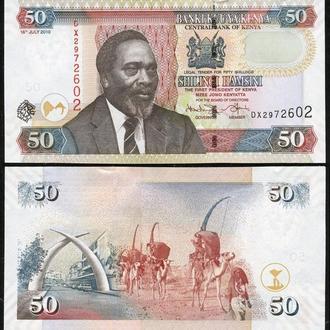 Kenya / Кения 50 Shillings 2010 - UNC Миралот