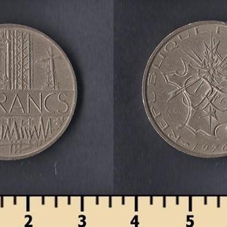 Франция 10 франков 1976