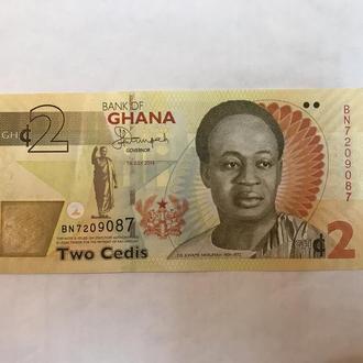 Боны Гана 2015 Unc