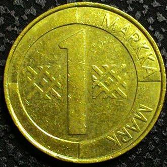 Финляндия 1 марка 1998 год СОСТОЯНИЕ!!!