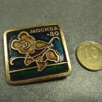 олимпиада москва 1980 олимпийский мишка №1873