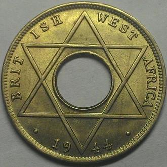 Британская Западная Африка, 1/10 пенни 1944 год UNC!!!! ОТЛИЧНАЯ!!!!!!