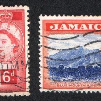 Ямайка (1956) Британская колония. Местные виды