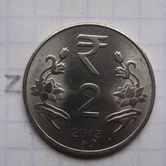 ИНДИЯ, 2 рупии 2013 г.
