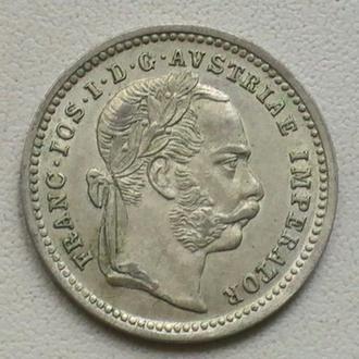 10 Крейцерів 1872 р Австрія Срібло 10 Крейцеров 1872 г Австрия Серебро