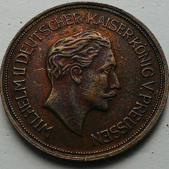 Германия токен 20 марок 1878 год