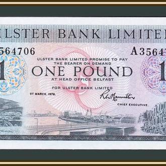 Северная Ирландия 1 фунт 1976 P-325 (325b.2) UNC