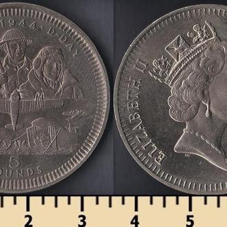 Гибралтар 5 фунтов 1994