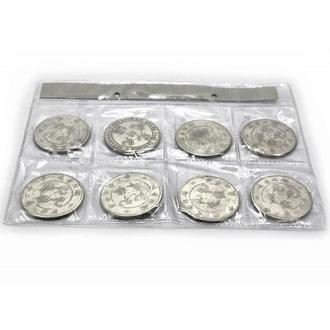 Монеты набор 8 шт Китай копии
