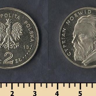 Польша 2 злотых 2013