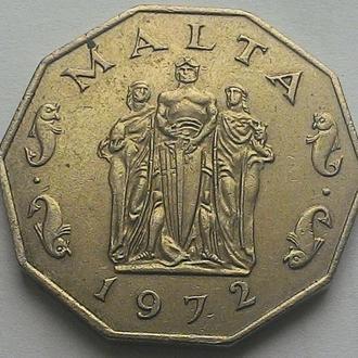 Мальта 50 центов 1972 год СОСТОЯНИЕ!!!