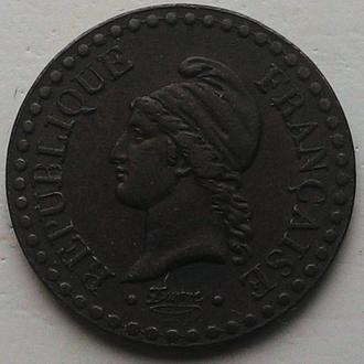 Франция, 1 сантим 1850 А год ОТЛИЧНАЯ!!!