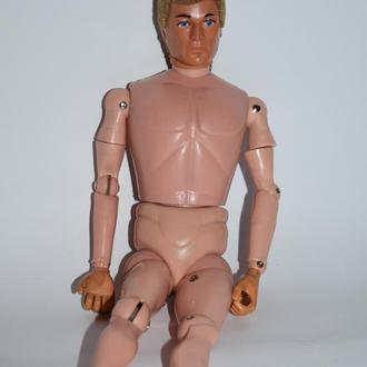 кукла мужчина на шарнирах с аксессуарами hasbro 1964 год  hong kong оригинал винтаж
