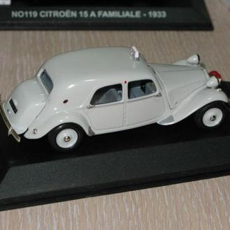Sun Star Citroen Tracktion 11B 1954 Taxi