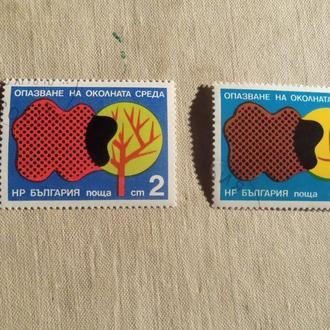марки- с 1 гр Болгария--(А3) - гашеные--2марки