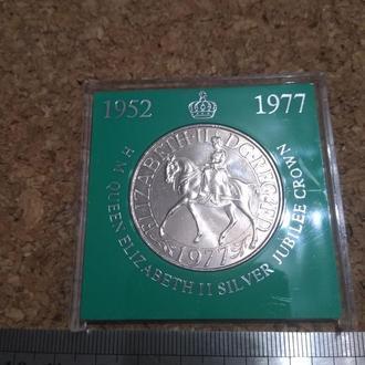 Великобритания 25 пенсов. 1977